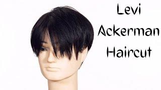 Levi Ackerman Undercut Haircut Tutorial - TheSalonGuy