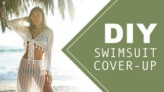 DIY Swimsuit Cover-up (Matching Set) | Made From Scratch