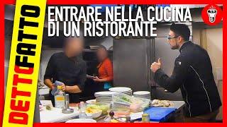 Entrare Nella Cucina di un Ristorante - DETTO FATTO EP.19 - theShow