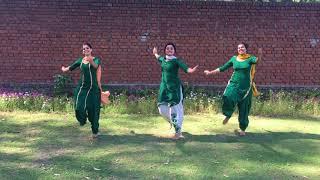 Punjabi Folk Dance    Girls Performance    Trending Bhangra 2018    Lehmber
