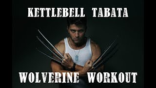 Wolverine Tabata HIIT Kettlebell Workout by Regular Dude Fitness