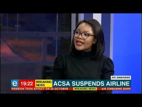 Air Zimbabwe barred from using SA airports