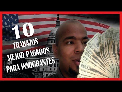 10 Trabajos FÁCILES DE CONSEGUIR en EEUU para INMIGRANTES