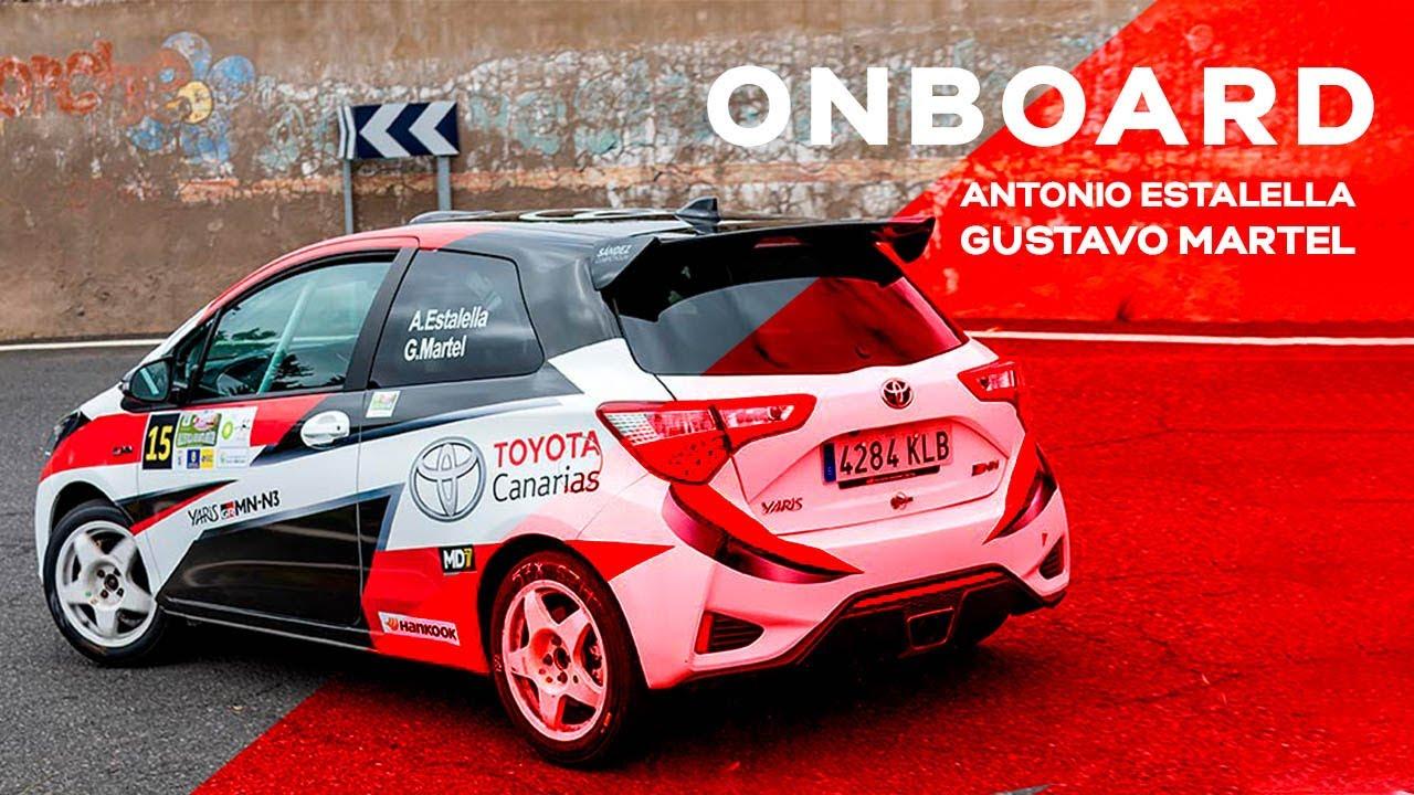 Antonio Estalella y Gustavo Martel | 36º Rally Villa de Santa Brígida
