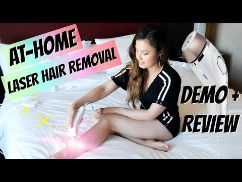 AT-HOME IPL LASER HAIR REMOVAL! 💫 Review + Demo of Venus Silk Expert