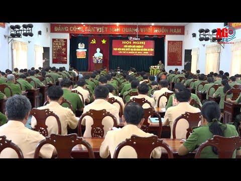 Kiểm điểm giữa nhiệm kỳ thực hiện Nghị quyết Đại hội Đảng bộ Công an tỉnh lần thứ XI