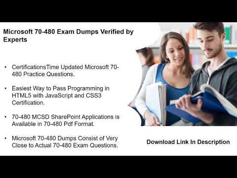 Actual Microsoft 70-480 Exam Dumps With Passing Guarantee ...