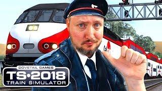 DET BEDSTE TOG! - Train Simulator 2018 Dansk Ep 1