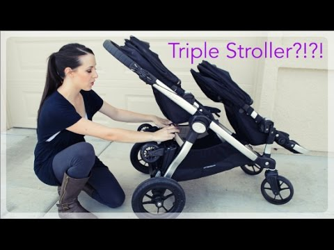Glider Board Attachment for the Baby Jogger City Select Triple Stroller