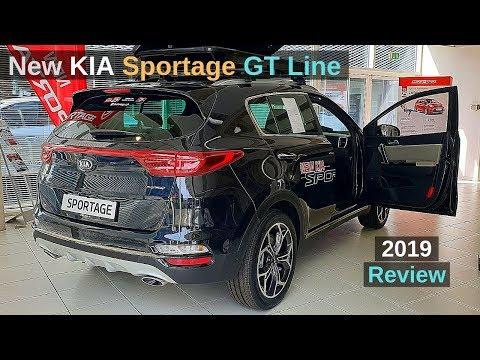 New Kia Sportage GT Line 2019 Review Interior Exterior