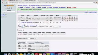 Building a CMS with PHP part 4 - Populating a database in phpmyadmin