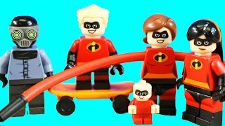 Incredibles 2 Lego Juniors Great Home Escape And Elastigirl's Rooftop Pursuit Toy Review