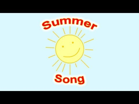 Summer Song for Children | Simple Song for Kids Learning English