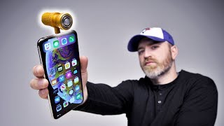 Here's a weird gadget from the wild world of Willy Du. For the gadget lover in your life, I present the iPhone shaver accessory. I thought I'd seen it all...  FOLLOW ME IN THESE PLACES FOR UPDATES Twitter - http://twitter.com/unboxtherapy Facebook - http://facebook.com/lewis.hilsenteger Instagram - http://instagram.com/unboxtherapy