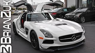 Picking Up Brand New Mercedes SLS AMG Black Series
