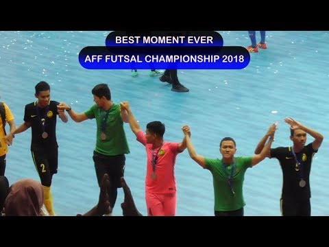 Best Moment Ever In AFF Futsal Championship 2018 - Indonesia, Malaysia & Thailand Bersatu