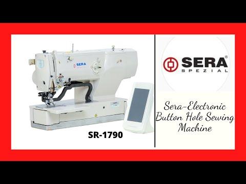 Electronic Buttonhole Machine