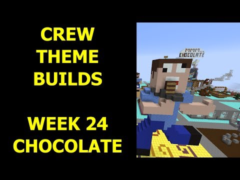 Minecraft - Your Theme Builds - Week 24 - Chocolate