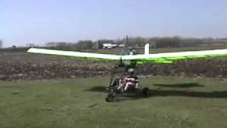 Flying The Microlight Aircraft Pt 2