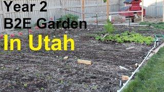 Back to Eden Heirloom Garden - Year 2 in Utah
