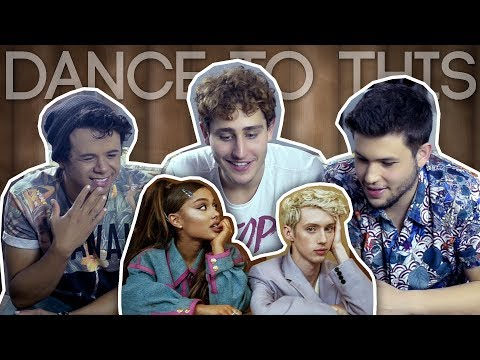 O último REACT: Troye Sivan ft. Ariana Grande - Dance To This