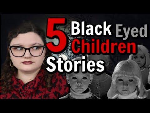 5 BLACK EYED CHILDREN STORIES - True Scary Urban Legends ♡ Sophia Lovelace