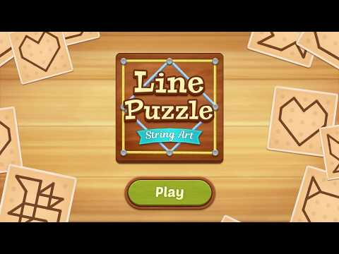 Line Puzzle: String Art Video