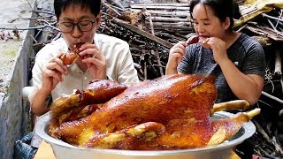 """3 pounds of chicken, """"watering chicken"""", so delicious, the bones are almost light!"""