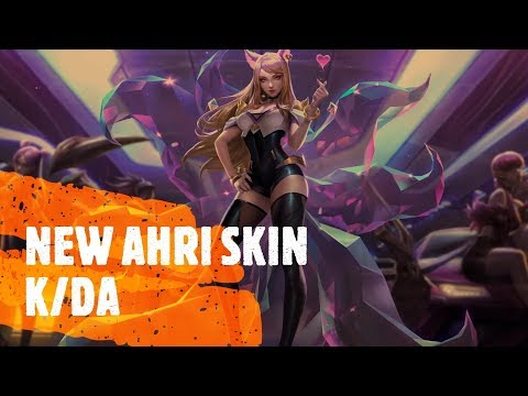 NEW AHRI SKIN | AHRI K/DA BEST SKIN? - AHRI SUPPORT HIGHLIGHTS