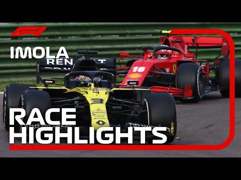 ルイス・ハミルトンが優勝!F1 第13戦エミリア・ロマーニャGP 決勝レースハイライト動画
