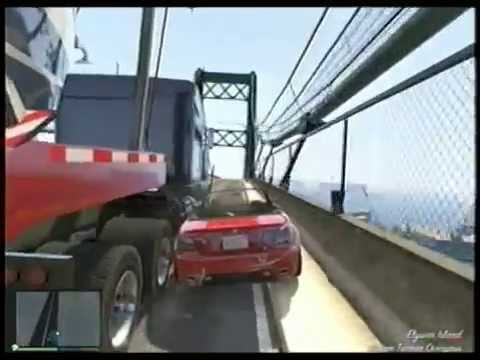 GTA 5 FATHER SON MISSION Save Red Car Not The Truck