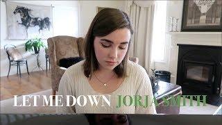 Let Me Down - Jorja Smith (Cover)