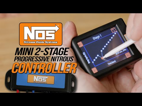 How to Control 2 stages of Nitrous with the NOS Mini 2 Stage Nitrous Controller
