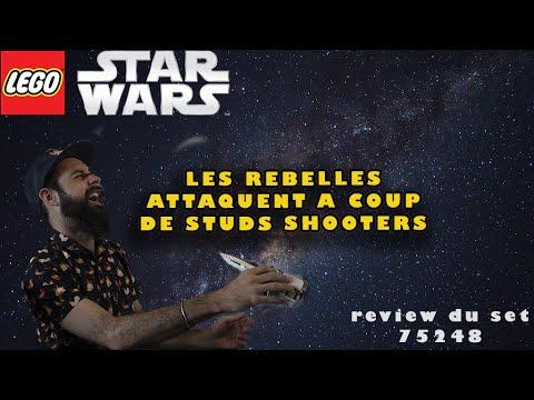 Vidéo LEGO Star Wars 75248 : A-Wing Starfighter de la Résistance