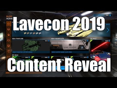 Elite: Dangerous - LaveCon 2019 Content Reveal