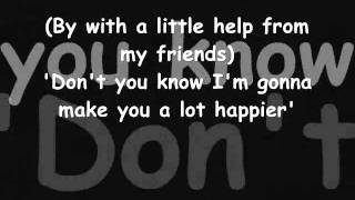 Joe Cocker - With a little help from my friends Lyrics