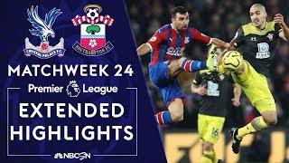Crystal Palace v. Southampton   PREMIER LEAGUE HIGHLIGHTS   1/21/2020   NBC Sports