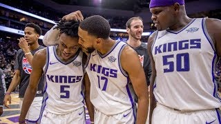 Rookie De'Aaron Fox Game Winner Vs 76ers! 76ers Vs Kings 2017-18 Season