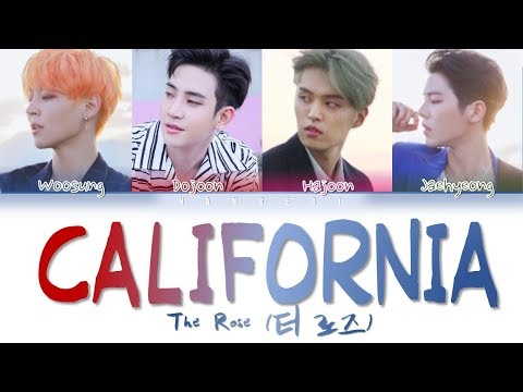 The Rose (더 로즈) – 'California' (Color Coded Lyrics Eng/가사)