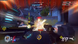 Never Let Go of That Beam! - Overwatch
