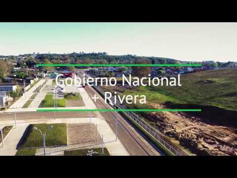 Infraestructura urbana en el barrio Treinta y Tres Orientales de Rivera
