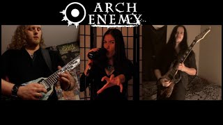 """ARCH ENEMY - """"As The Pages Burn"""" (Cover by Haydee Irizarry/Eddie Shifflet/Jack Kosto)"""