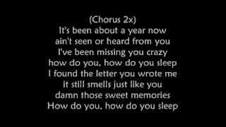 How do you sleep? Jesse McCartney with Lyrics