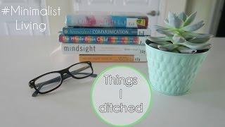 Minimalist Living: Things I Stopped Buying & Using