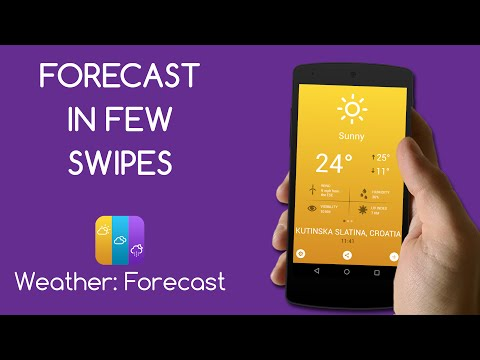 Weather: Forecast – Android App Review | AppInterview