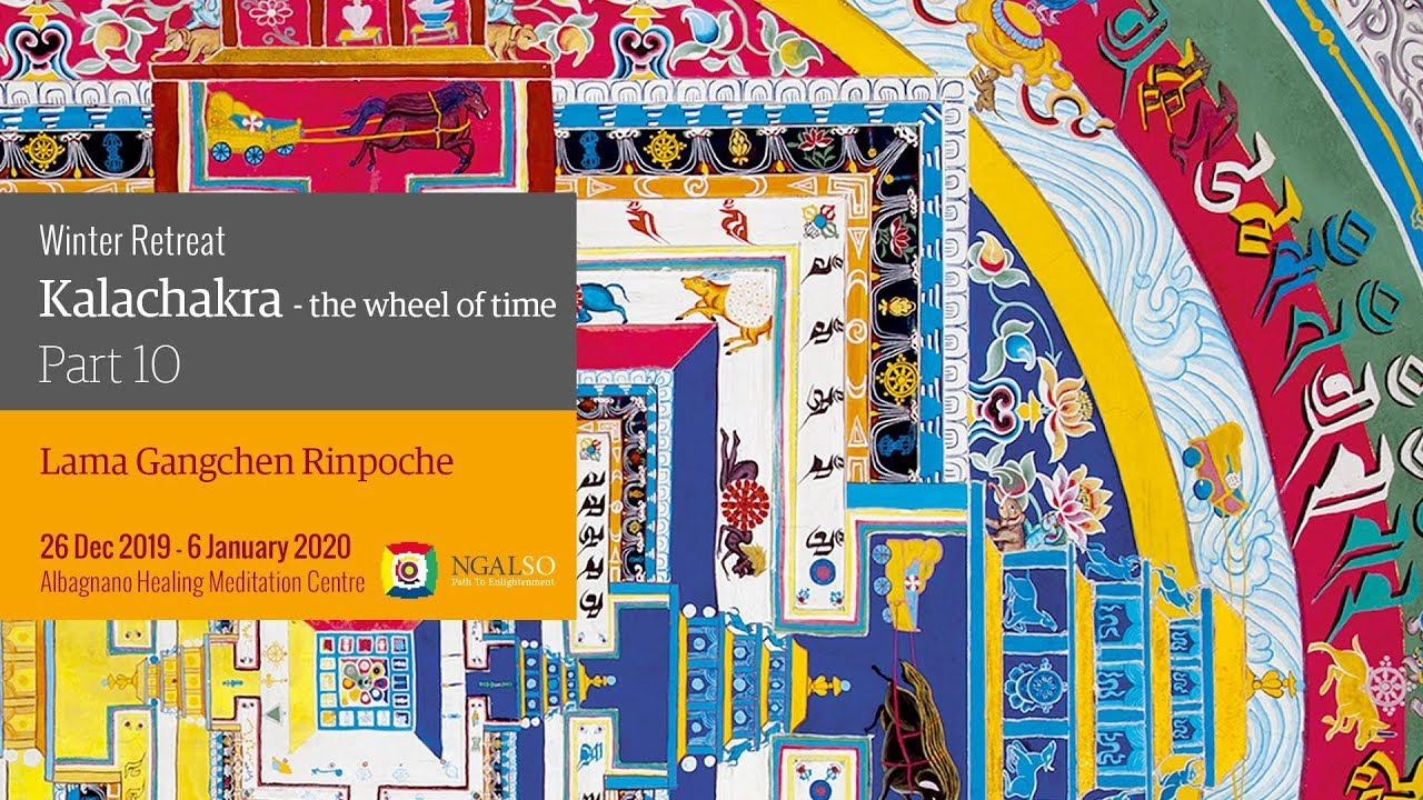 Winter retreat - Kalachakra: the Wheel of time - part 10