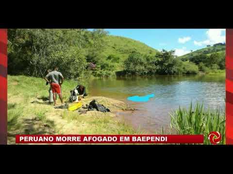 Peruano morre afogado em Baependi