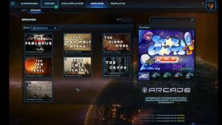 How to play The Curse of Tristram on Starcraft 2 Video Tutorial