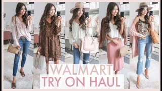 HUGE WALMART FALL TRY ON HAUL 2019 | fall outfit ideas