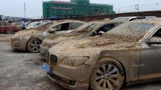 Abandoned Super Cars in Dubai